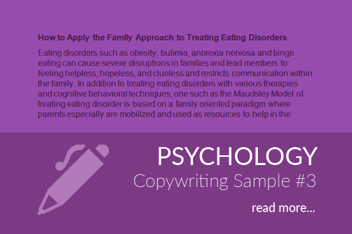 Psychology Copywriting