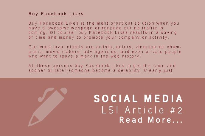 LSI SOCIAL MEDIA