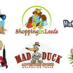 Fun and Creative Cartoon Logos in Business