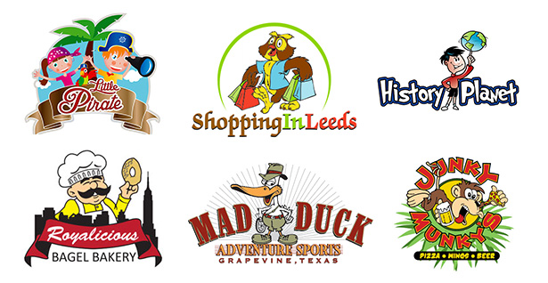 Cartoon-logo-design-samples
