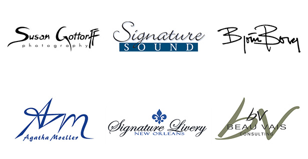 Signature-logo-design-samples